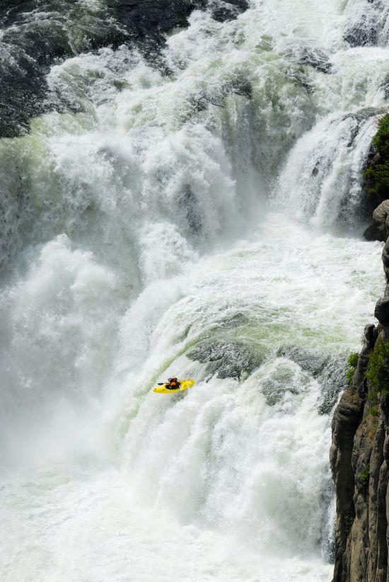 Jesse Coombs Lower Mesa Falls, Idaho USA. ©Lucas Gilman www.lucasgilman.com