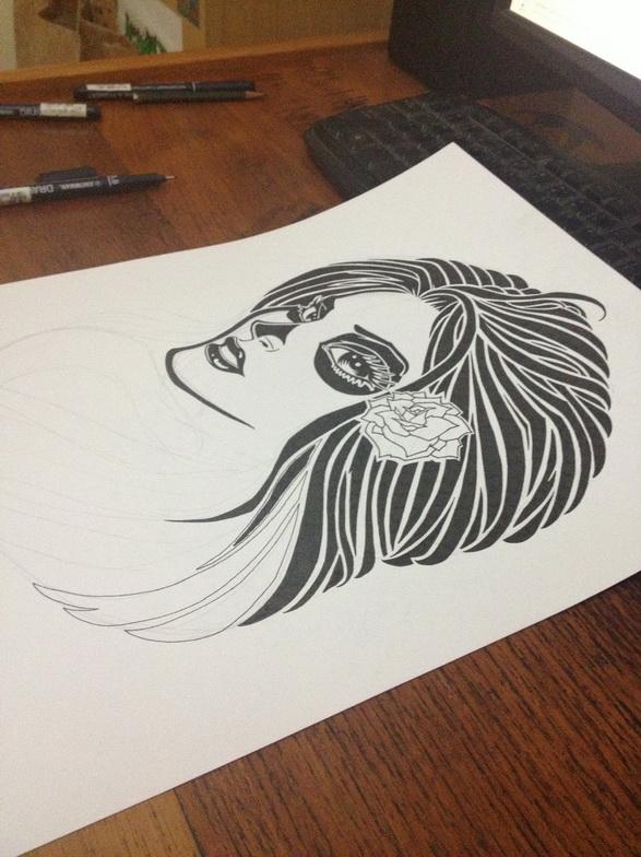 GFPV 2013 La Santa Muerte Sketch (0)