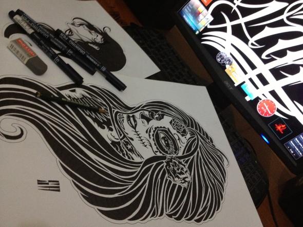 GFPV 2013 La Santa Muerte Sketch (1)