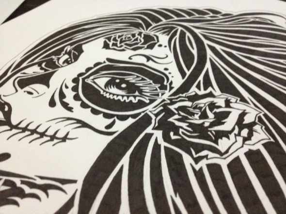 GFPV 2013 La Santa Muerte Sketch (2)