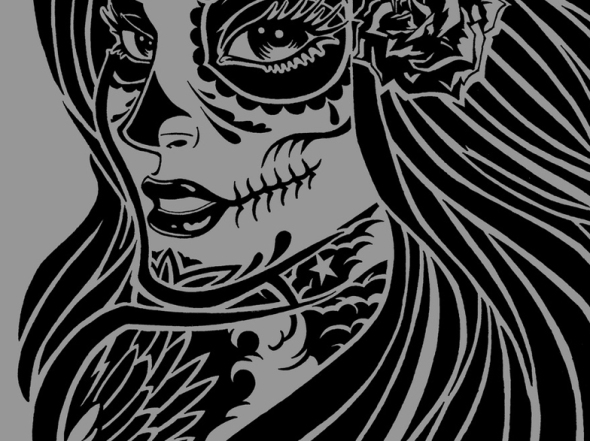 GFPV 2013 La Santa Muerte Sketch (3)