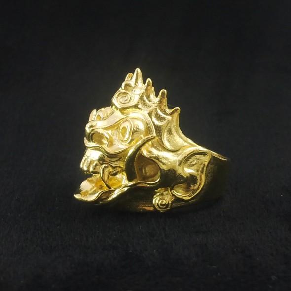 Rangda In Gold